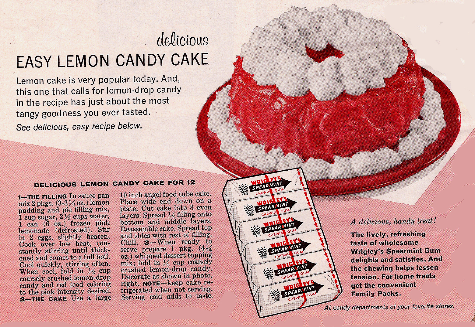 The Top Ten Best Vintage Dream Cake Ads Snaxtime