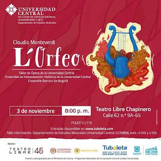 ORFEO | Teatro Libre de Chapinero