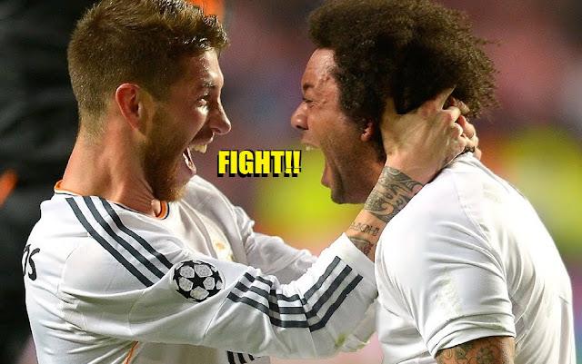 Tensión total en el Madrid: Ramos se enfrentó con Marcelo