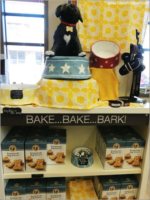 Galletas para Perros en la Tienda Insignia King Arthur Flour, Vermont