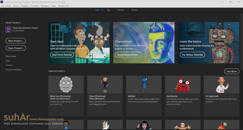Gratis Download Adobe Character Animator CC 2019 Full Crack Terbaru, Adobe Character Animator CC Full Patch, Adobe Character Animator CC Activation Code