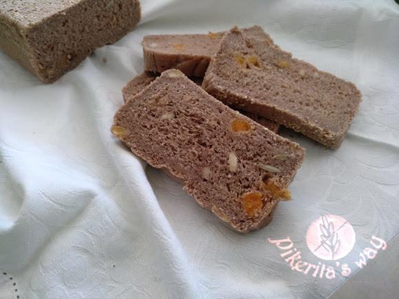 Pan integral sin gluten al vapor