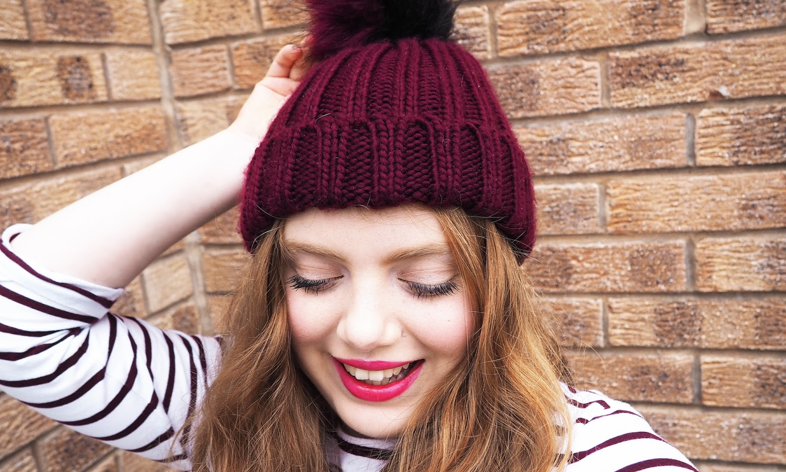 Oasis Josie Pom Pom Hat, Debenhams
