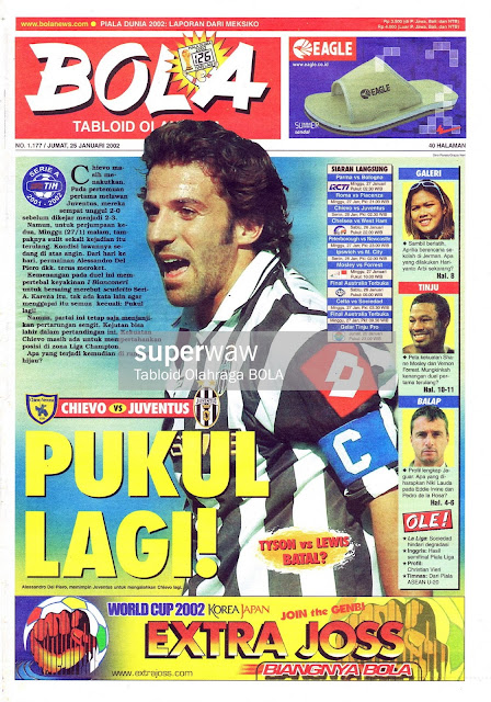 DEL PIERO MAGAZINE COVER