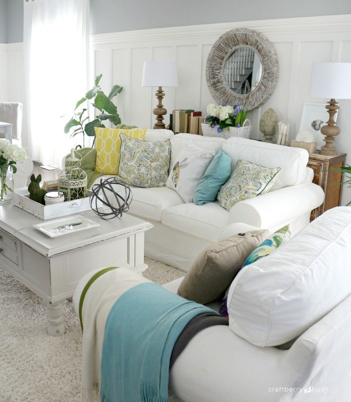 9 Shabby Chic Living Room Ideas To Steal: An Honest Review Of The Target Shabby Sofa Slipcover