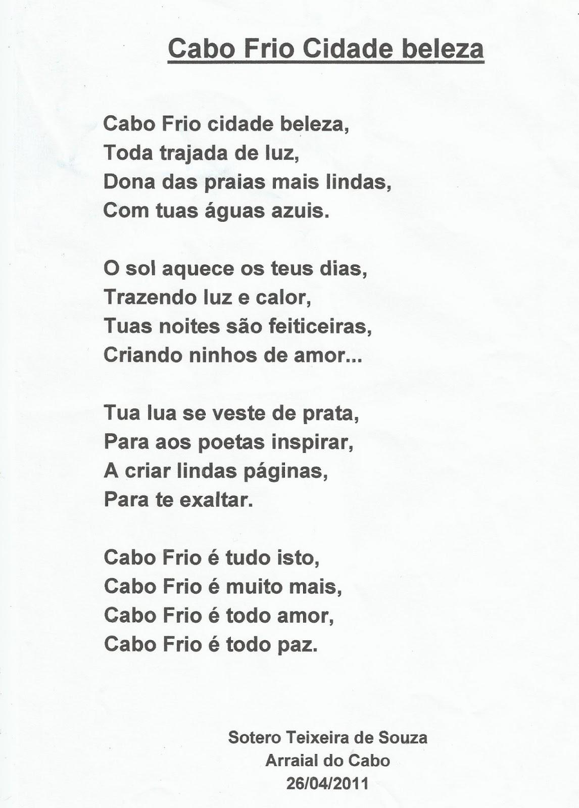 poema do cume completo