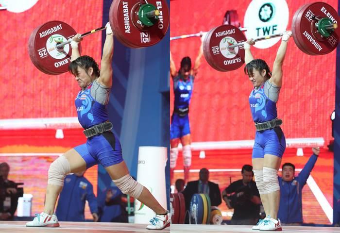 Sukanya Srisurat IWF World Championships 2018