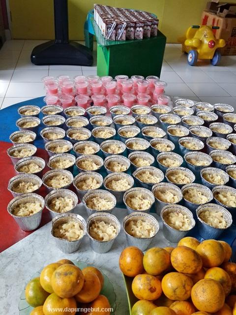 Menyajikan Extra Food Di Sekolah Tk Dd Irsyad Dapur Ngebut