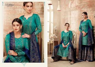 Belliza Designer viva Jam Cotton Salwar kameez