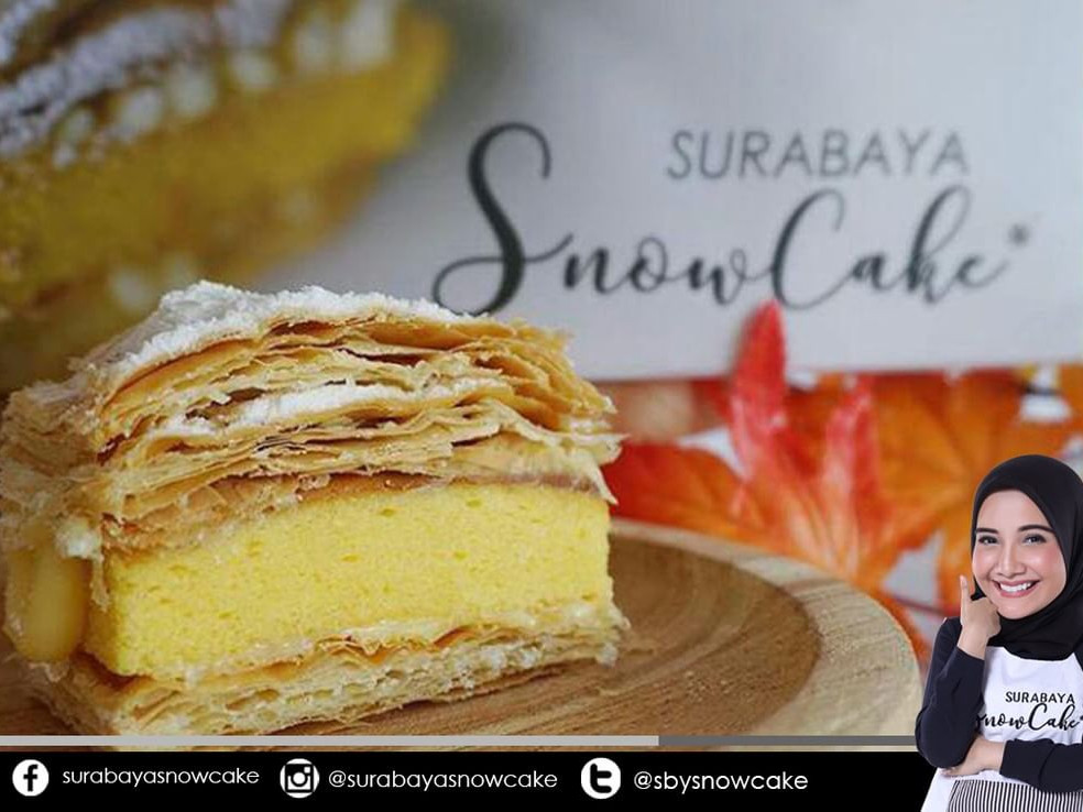 Ke Surabaya, Jangan Lupa Snowcake Surabaya