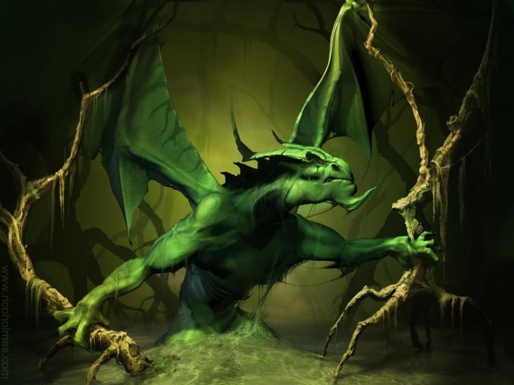 awesome 3d dragon wallpaper - photo #40