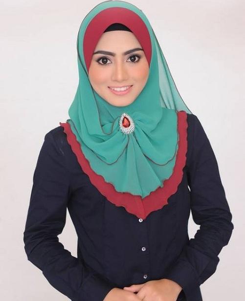 Tudung Mawar Fareeda yang seksi