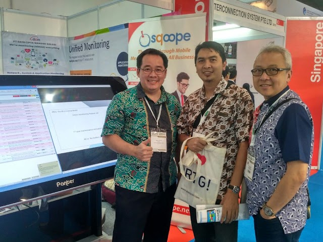 People Love PRTG bags at our booth in Communic Indonesia - 1 Sep 2016