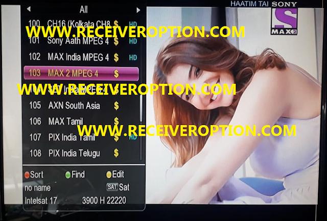 GX 6605S 5815 V4.1 NEW SOFTWARE SONY NETWORK 68 SONY NETWORK 66 SONY NETWORK 105E OK