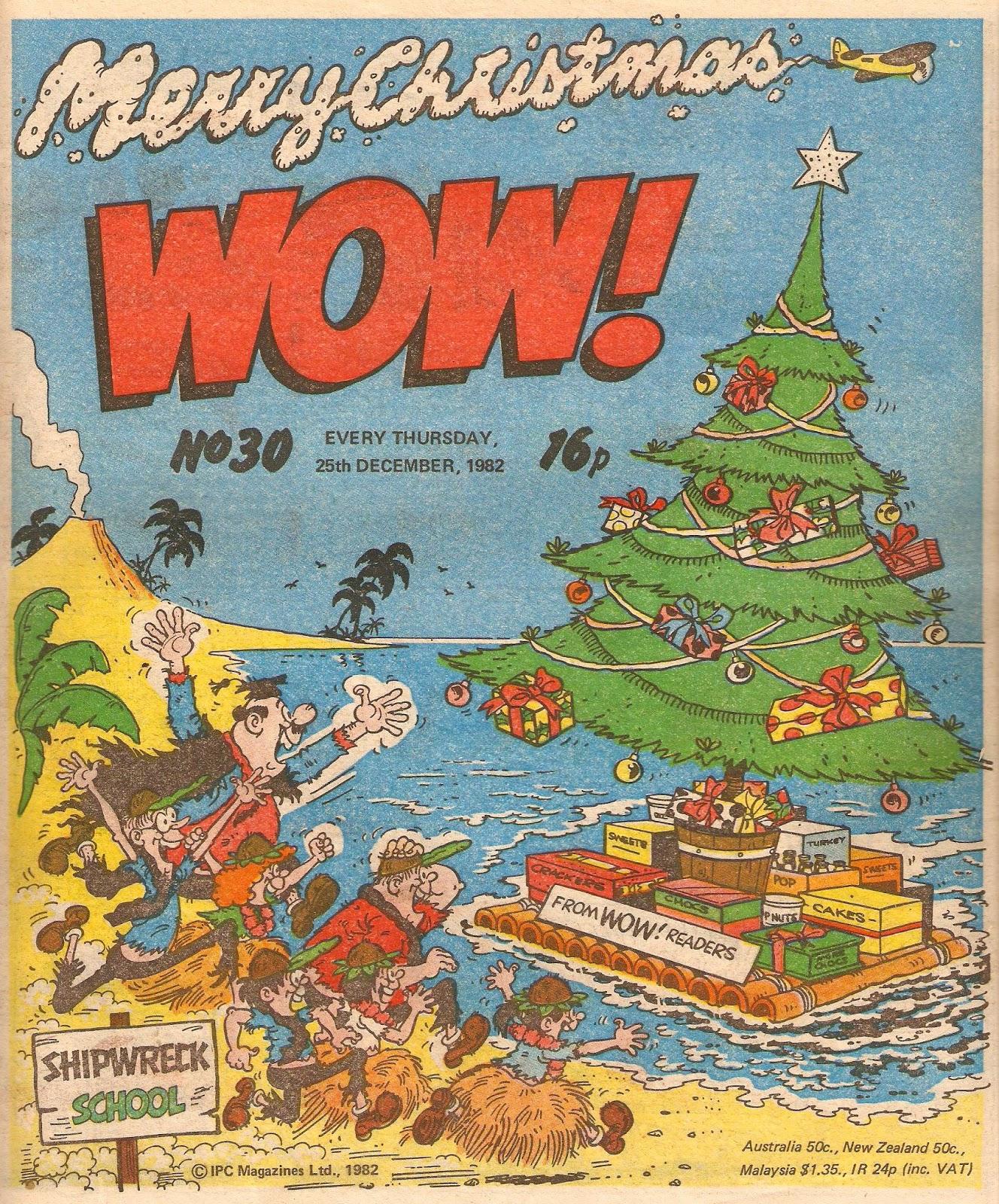 Wow Christmas.Wacky Comics Wow It S Christmas 1982