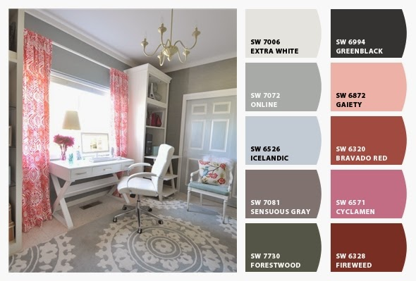 Benny B S Painting Home Office Color Palette