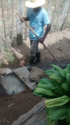 Manutenção e reparos na rede de esgoto são realizados em Mairi