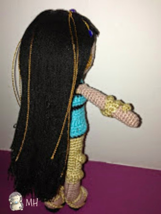 Monster High Cleo de Nile amigurumi