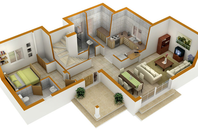 MyHousePlanShop: 3D Duplex House Plans That Will Inspire You