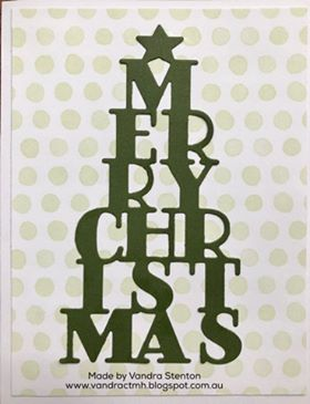 Colour Dare Challenge, color dare, #CTMHVandra, Christmas, thin cuts, monochromatic, green, Challenge, easy, quick, speedy, cardmaking,