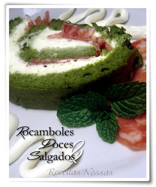 Aprenda a preparar a receita do rocambole de espinafre fácil de fazer