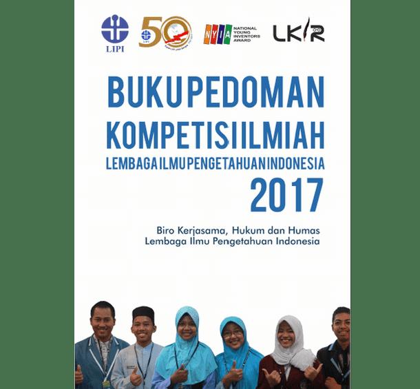Buku Pedoman Kompetisi Ilmiah LIPI 2017