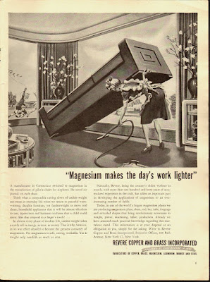 Magnesium makes the day's work lighter