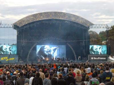 Portishead festival Rock en Seine 2014