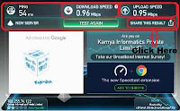 how to test internet speed connection online