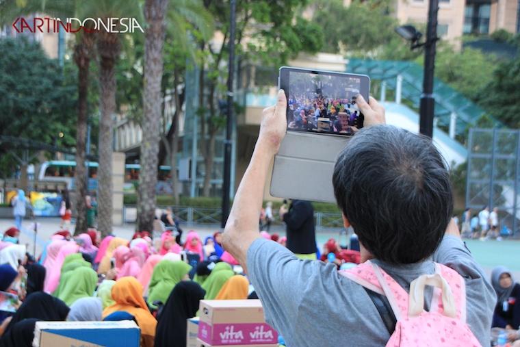 Kegiatan Buka Bersama ala BMI Hong Kong Yang Penuh Rasa Kebersamaan dan Menambah Pengetahuan