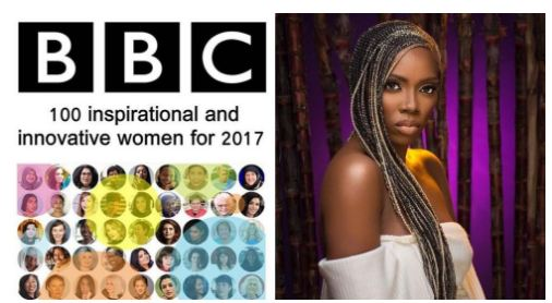 Tiwa Savage Reacts To Making BBC's Top 100 Inspirational & Innovative Women List