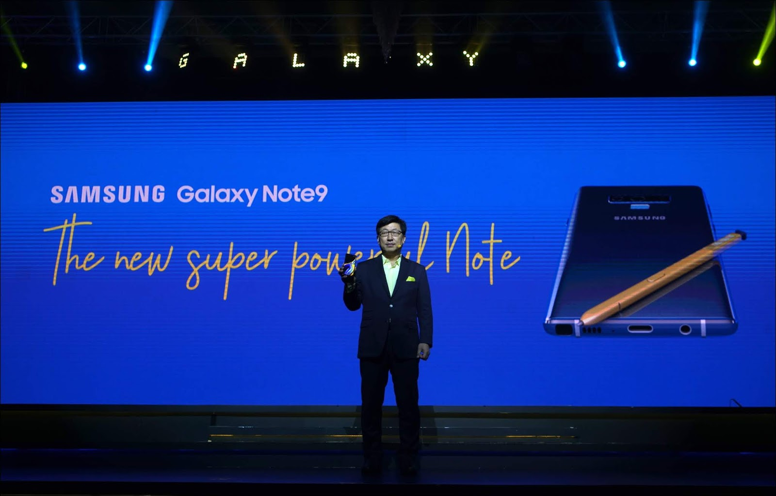 Samsung Luncurkan Galaxy Note9 Super Powerful Note