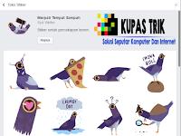 """Asal Usul Stiker """"Trash Dove"""" Yang Sedang Viral Di Facebook"""