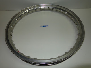 Akront rim for motorcycle 18 x 1.6- 36 T SILVER