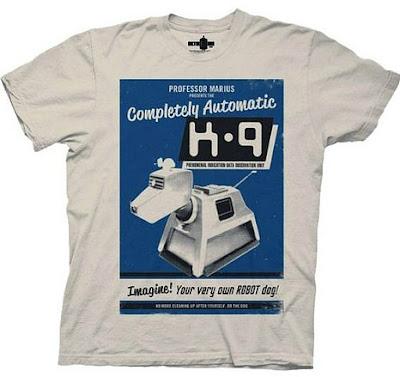 K-9 poster T-shirt