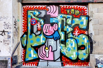 Sunday Street Art : Poes - rue Biot - Paris 17