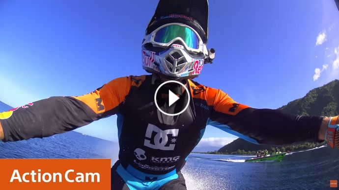 Action Cam Robbie Maddison s Pipe Dream POV 4K Sony