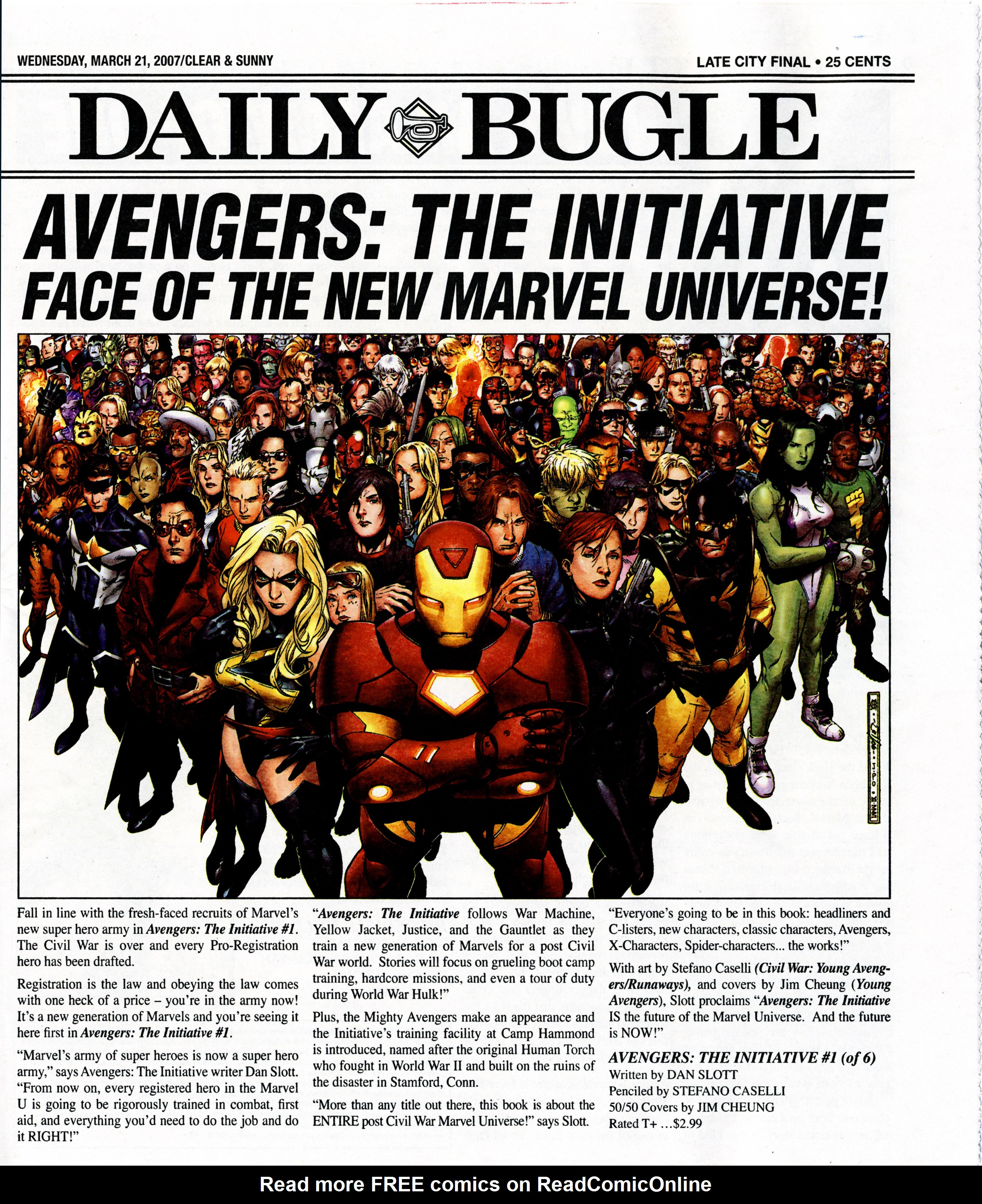 Read online Daily Bugle (2006) comic -  Issue #7 - 2