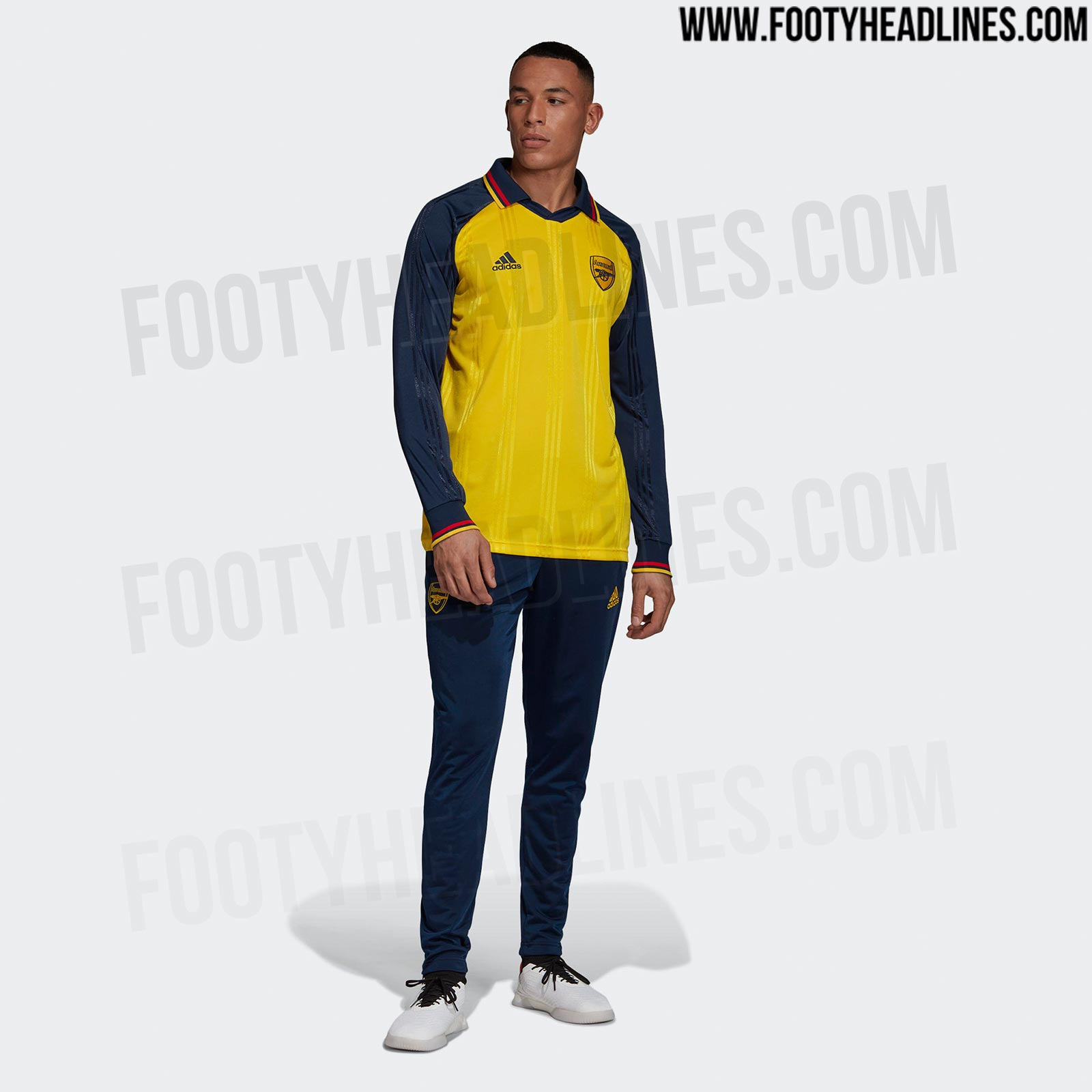 best website 2660d dc326 Adidas Arsenal 19-20 Icon Retro Jersey Released + Prototype ...