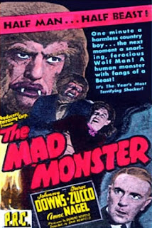 Portada película The Mad Monster