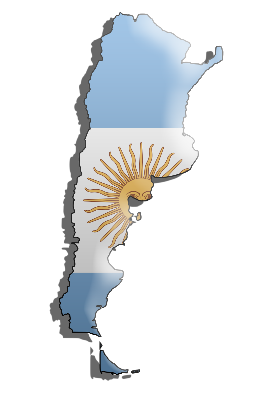 graafix   wallpapers flag of argentina