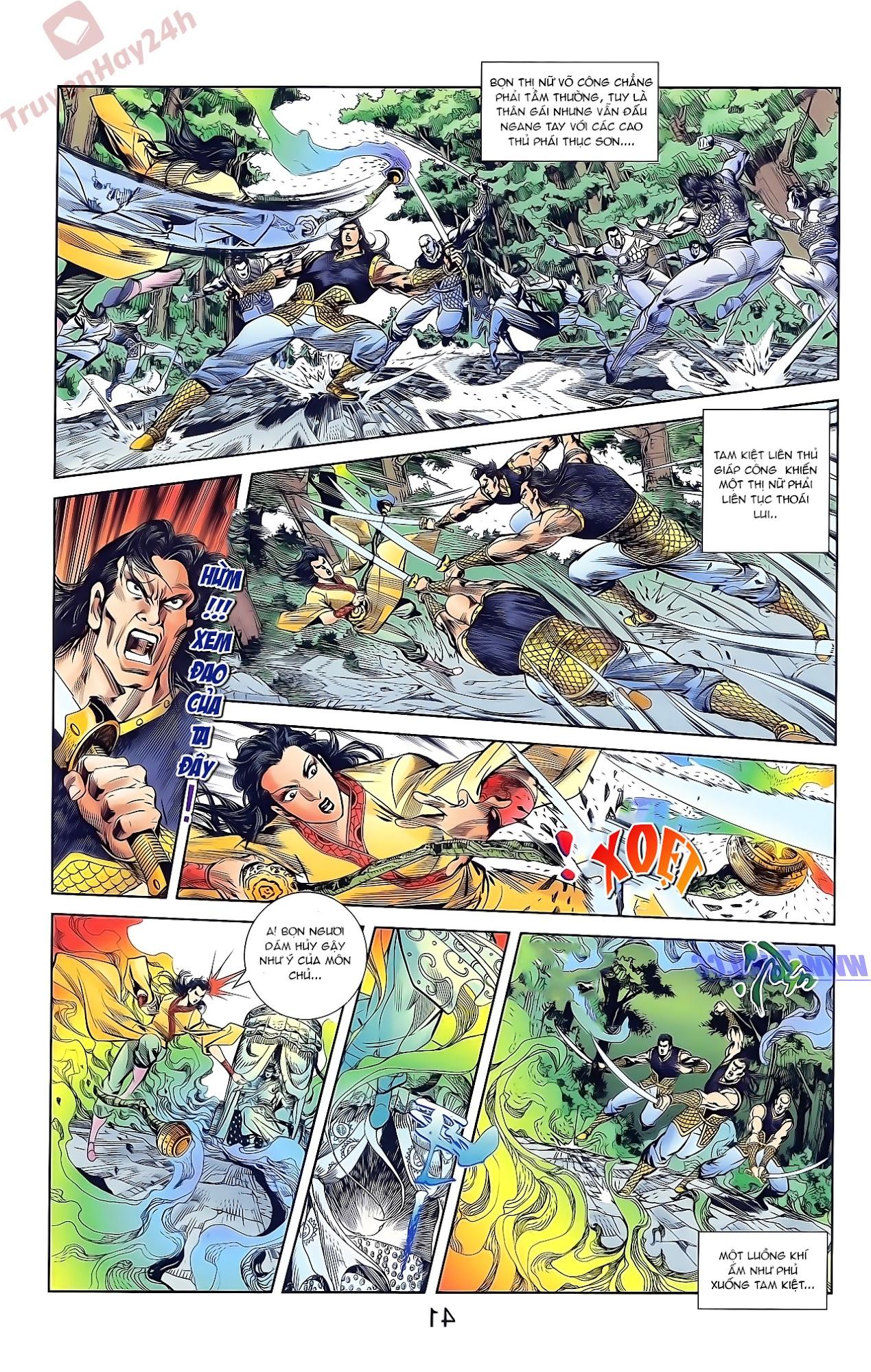 Tần Vương Doanh Chính chapter 46 trang 7