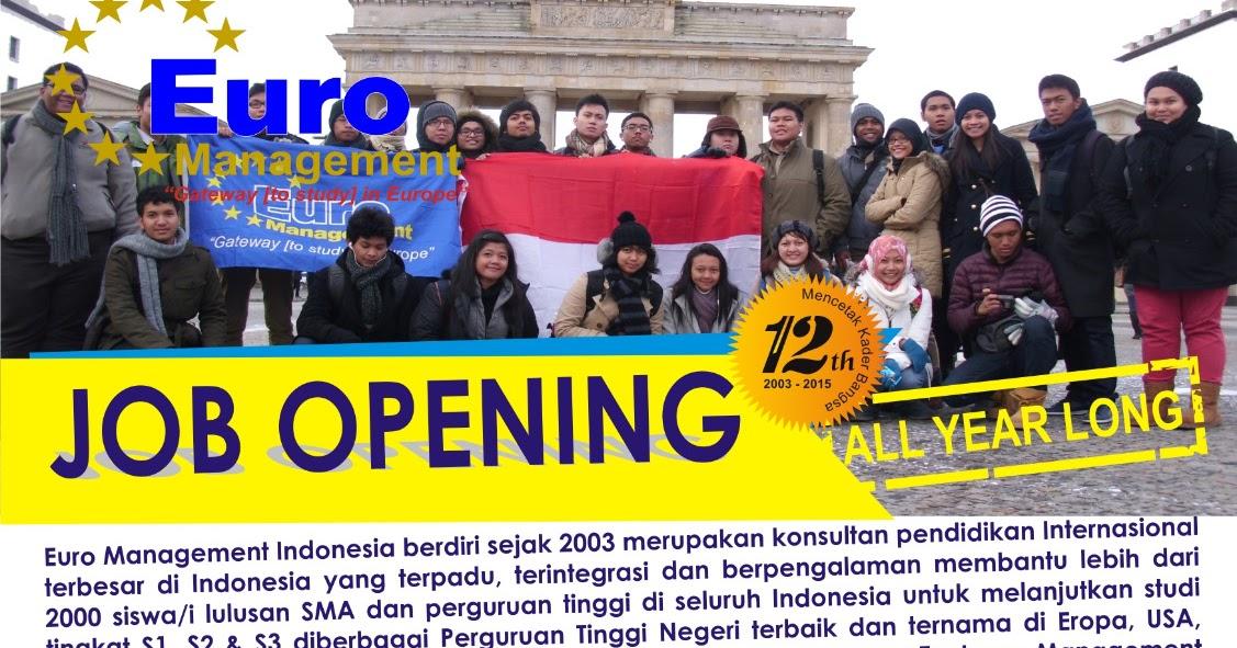 Job Vacancy H&M Indonesia