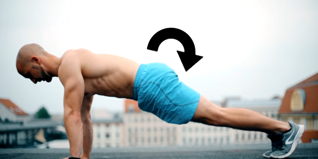 Pushup body position