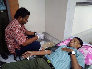 donor darah di MAN PATAS