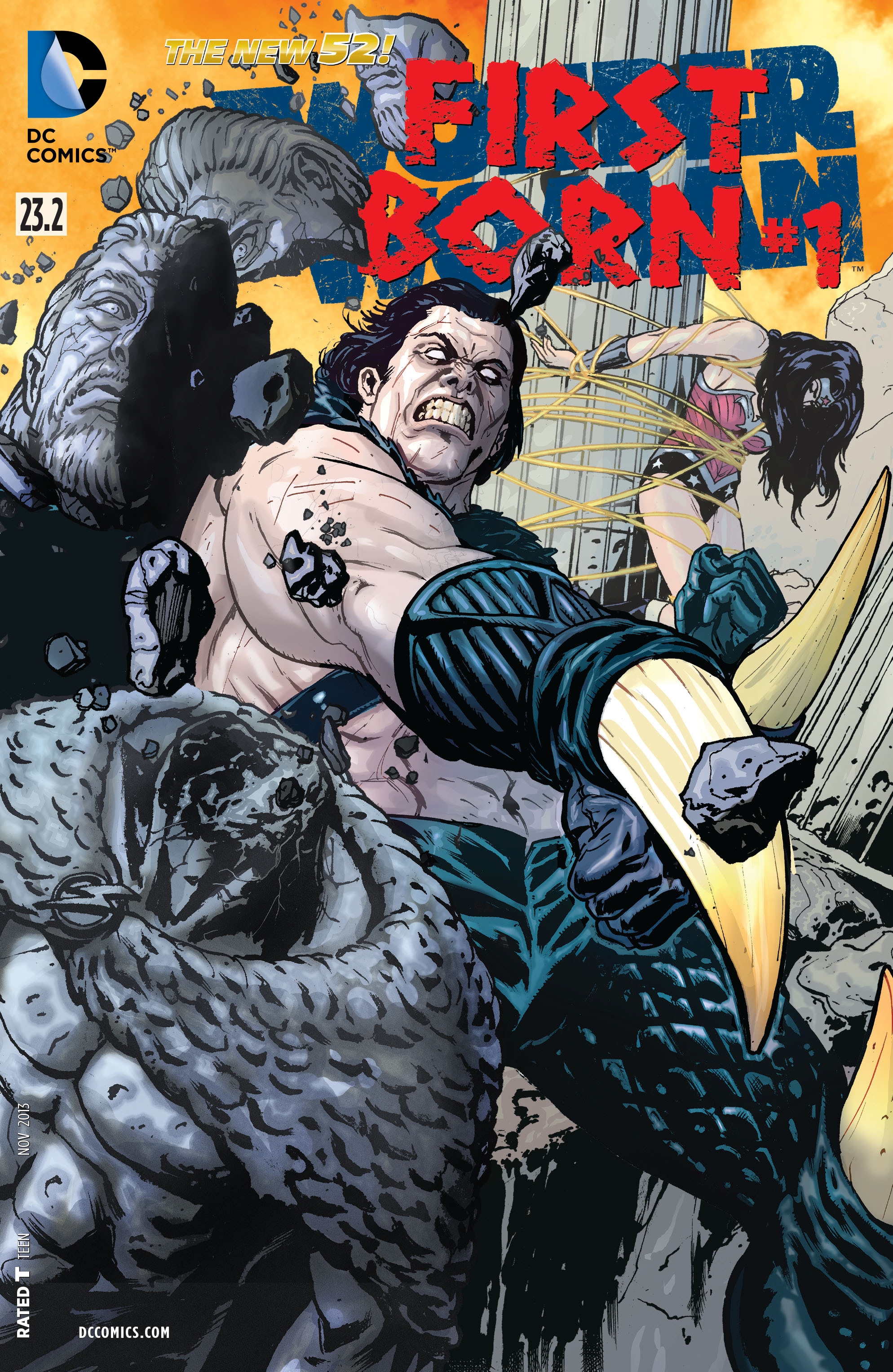 Read online Wonder Woman (2011) comic -  Issue #23.2 - 1