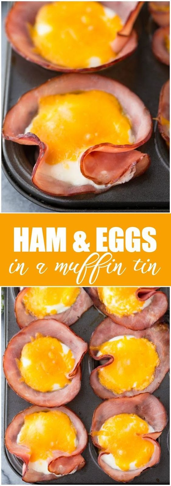 Ham & Eggs in a Muffin Tin