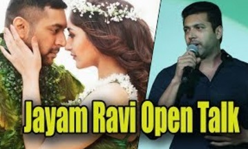 """Actor Jayam Ravi Open Talk About Vanamagan 
