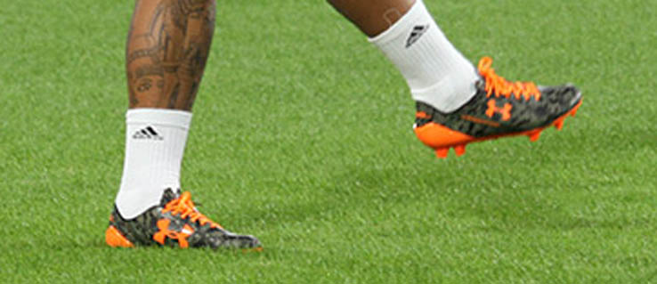 Memphis Depay To Debut Under Armour Camouflage Boots In Champions