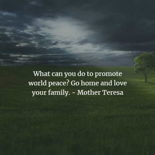 Mother Teresa quotes and sayings on love and faith